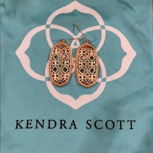 Kendra Scott Rose Gold Elle earrings
